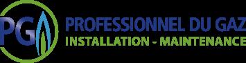 Le logo prodessionnel du gaz