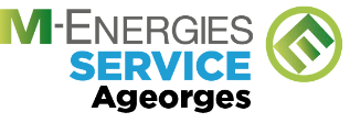 Le logo M-ENERGIES SERVICE Ageorges