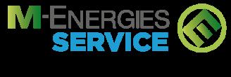 Le logo M-ENERGIES SERVICE Gaz Service