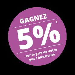 M-Energies-Distribution vignette promo pour gagner 5% sur le prix de votre gaz/électricité