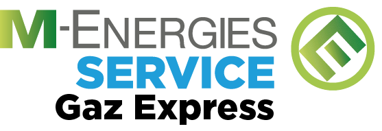 Le logo M-energies service Gaz Express