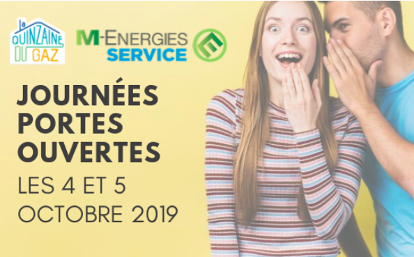 Gaz Express : Portes Ouvertes vendredi 4 et samedi 5 octobre 2019